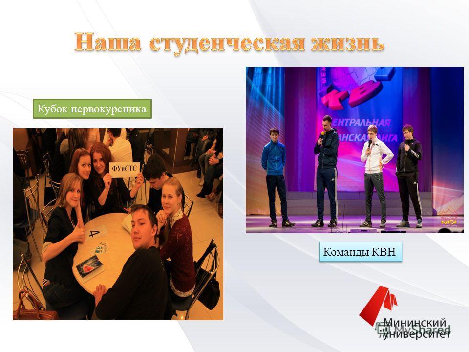 Команды КВН Кубок первокурсника