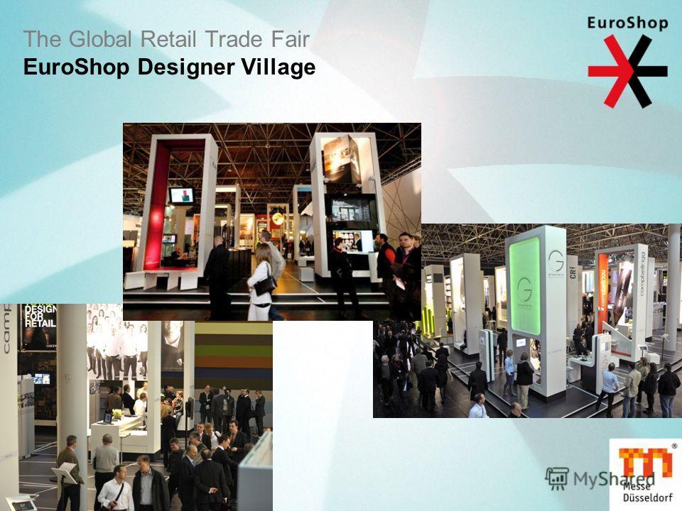 The Global Retail Trade Fair EuroShop Designer Village
