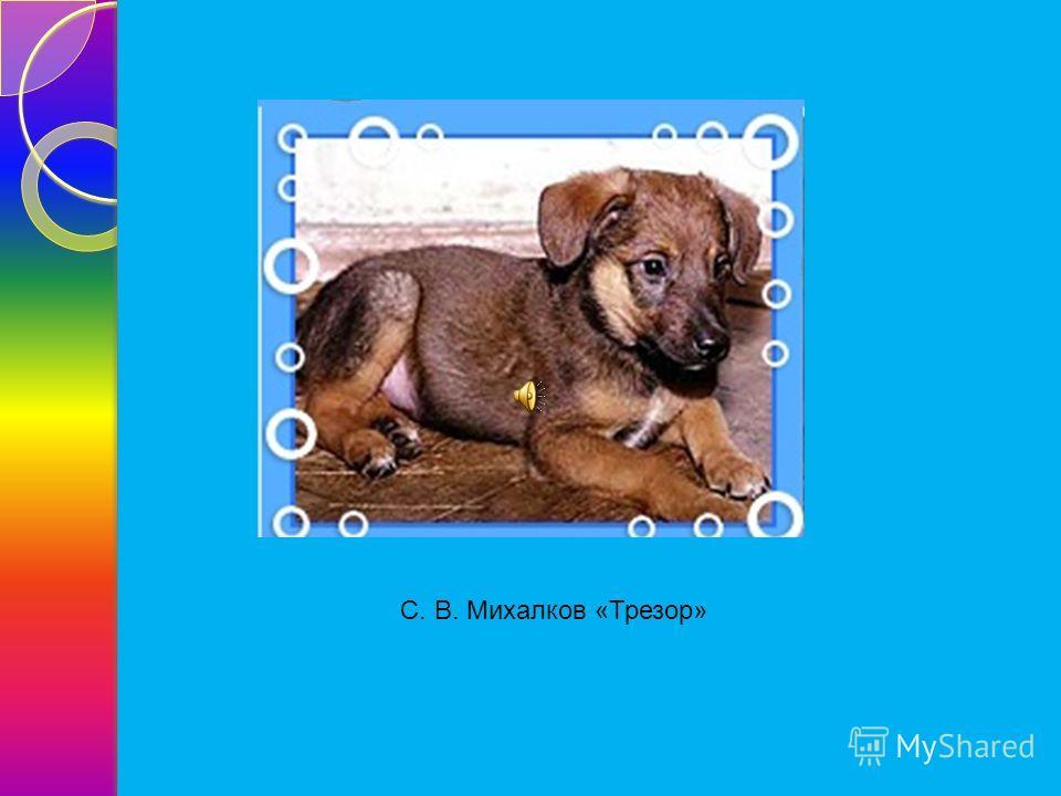 С. В. Михалков «Трезор»
