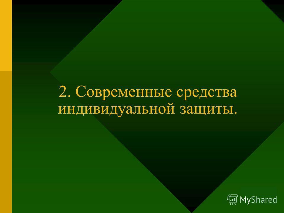 11.11.2014 1 2. Современные средства индивидуальной защиты.
