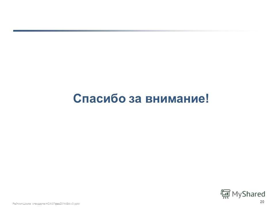 20 Рейтинг-Школа стандарта-НСК-07 фев 2014-ЕА-v3. pptx Спасибо за внимание!