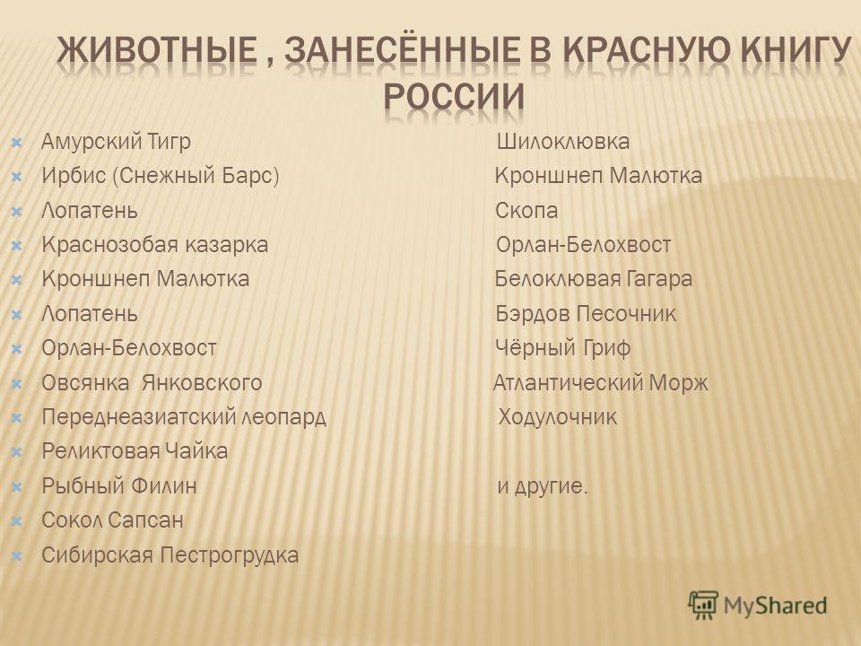 Красная книга Российской Федерации является официальным документом, содержащим свод сведений о редких и исчезающих видах животных и растений, а также необходимых мерах по их охране и восстановлению. Иными словами, он представляет собой государственны