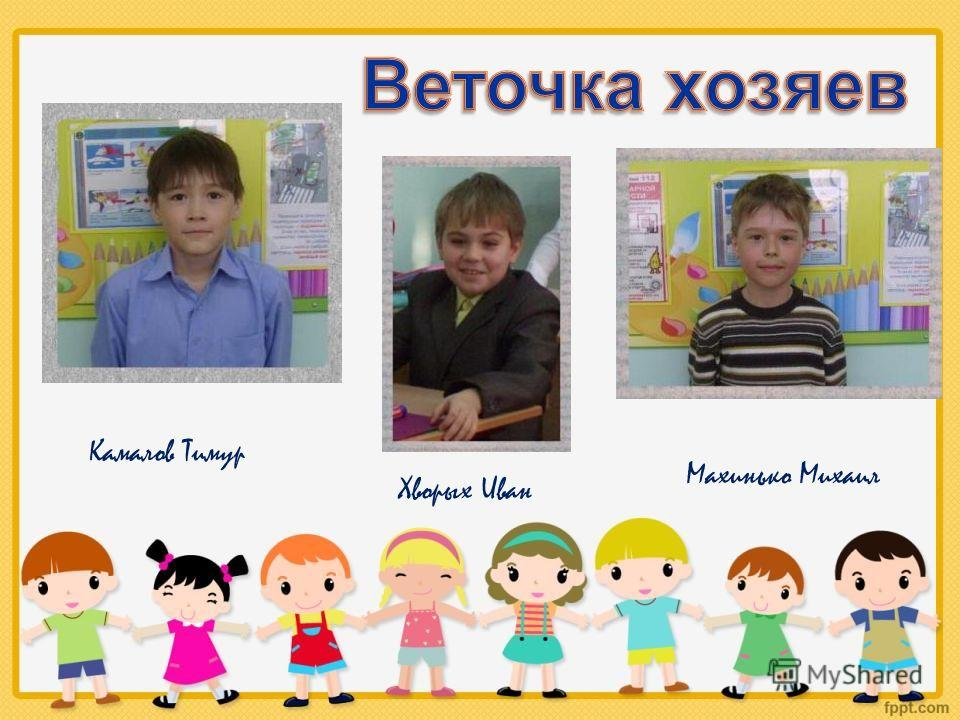 Камалов Тимур Хворых Иван Махинько Михаил