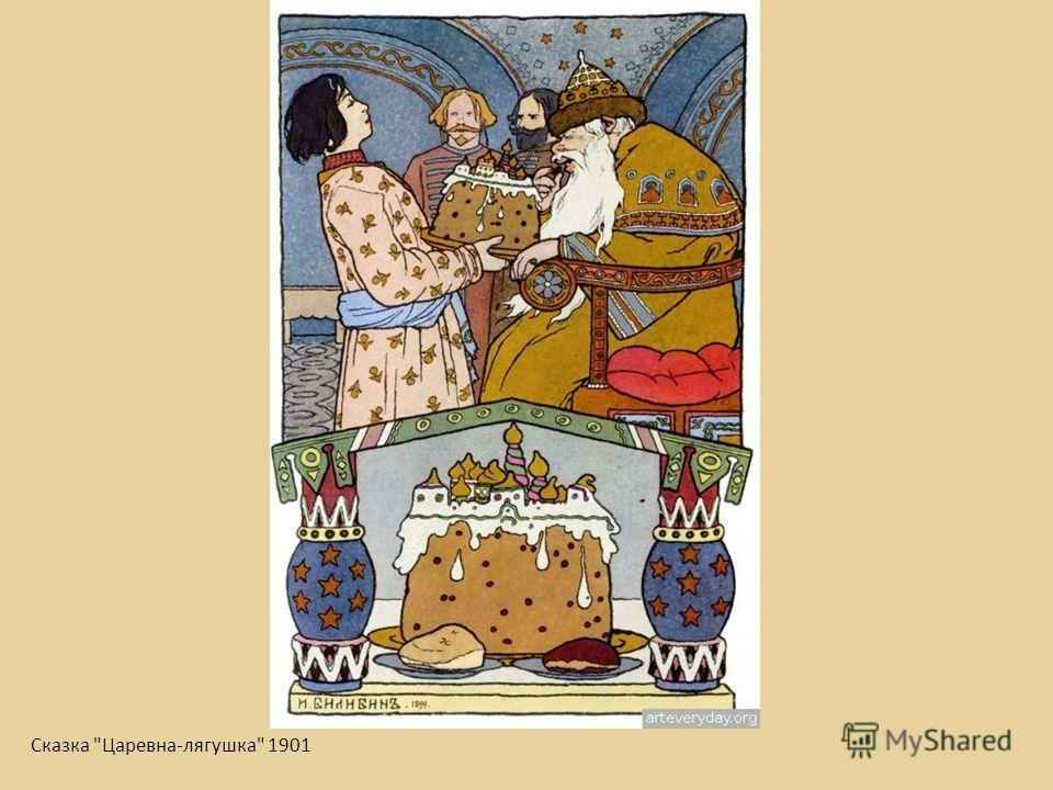 Сказка Царевна-лягушка 1901