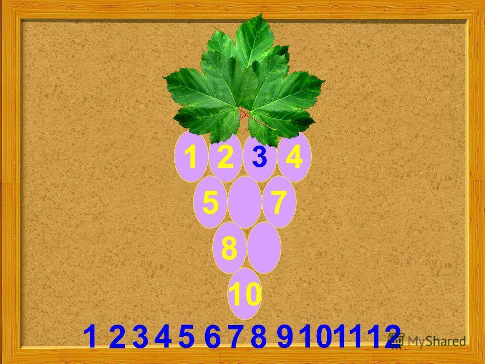 12 3 4 57 8 10 2 9 38 111 6 54 7 10 12