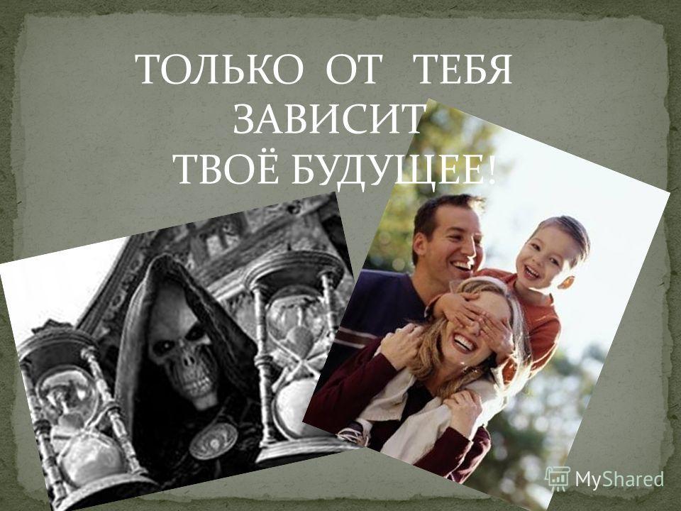 ТОЛЬКО ОТ ТЕБЯ ЗАВИСИТ ТВОЁ БУДУЩЕЕ!