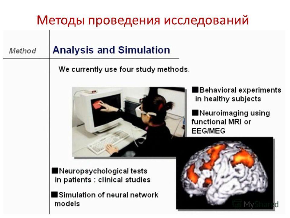 Методы проведения исследований