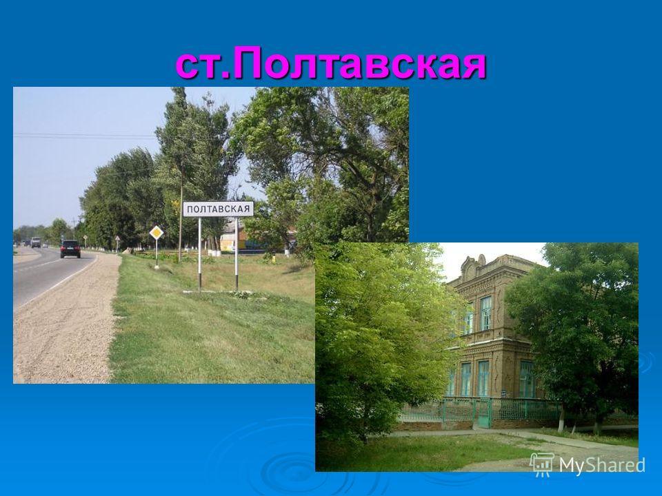 ст.Полтавская