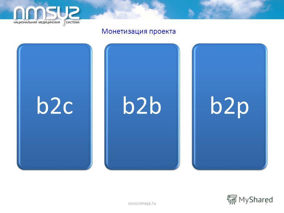 Монетизация проекта www.nmsys.ru7 b2cb2bb2p