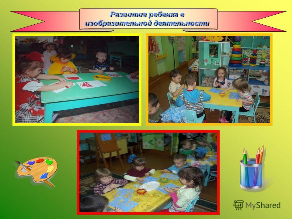 Развитие ребенка в изобразительной деятельности