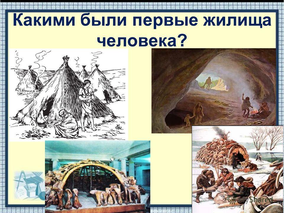 Какими были первые жилища человека?