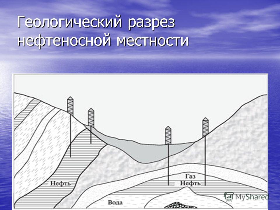 11.11.201410 Геологический разрез нефтеносной местности