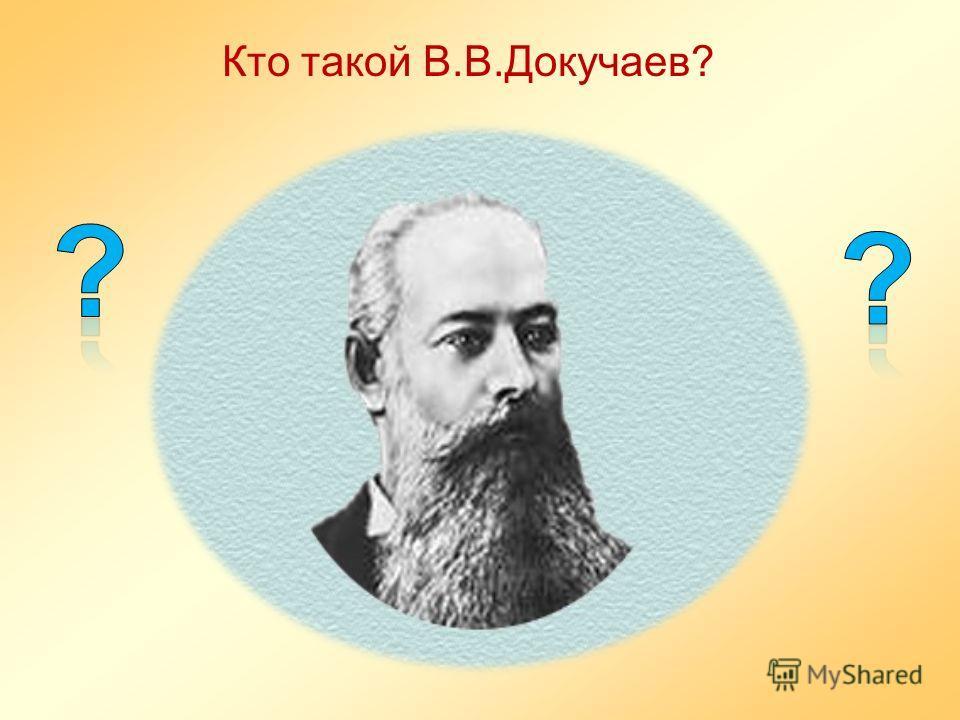 Кто такой В.В.Докучаев?