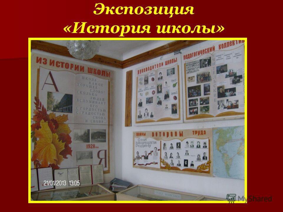 Экспозиция «История школы»