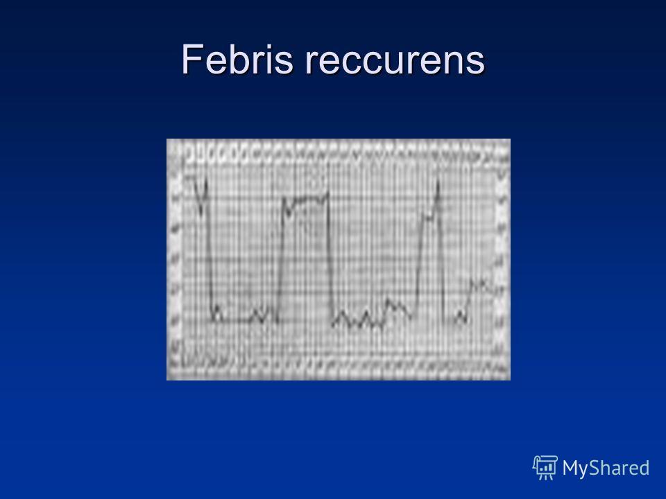Febris reccurens