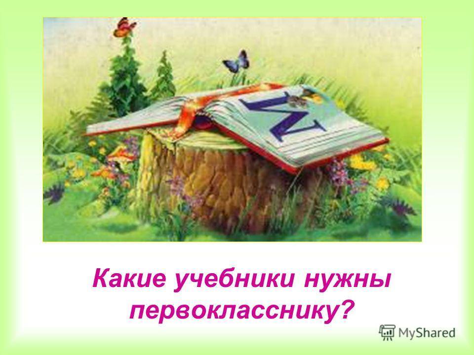 Какие учебники нужны первокласснику?