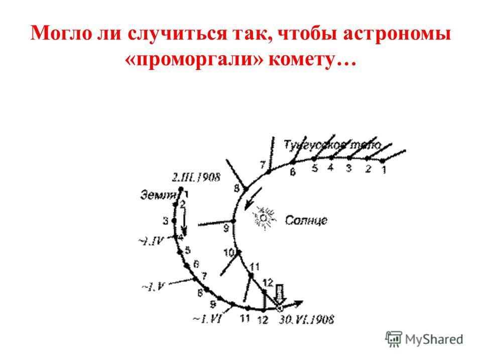 На высоте 5-6 км метеоритное тело взорвалось…