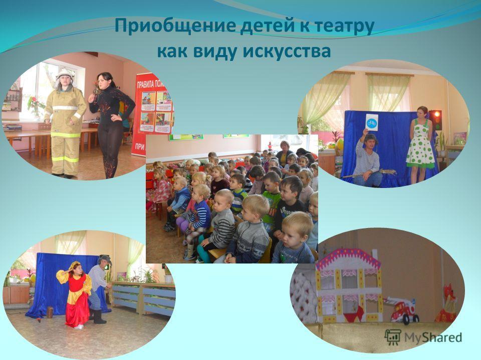 Приобщение детей к театру как виду искусства