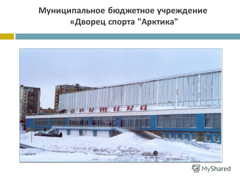 Муниципальное бюджетное учреждение « Дворец спорта  Арктика