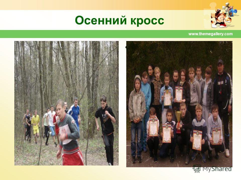 www.themegallery.com Осенний кросс