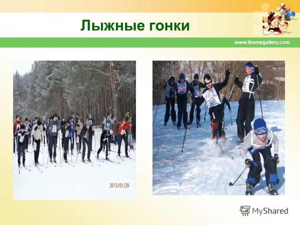 www.themegallery.com Лыжные гонки