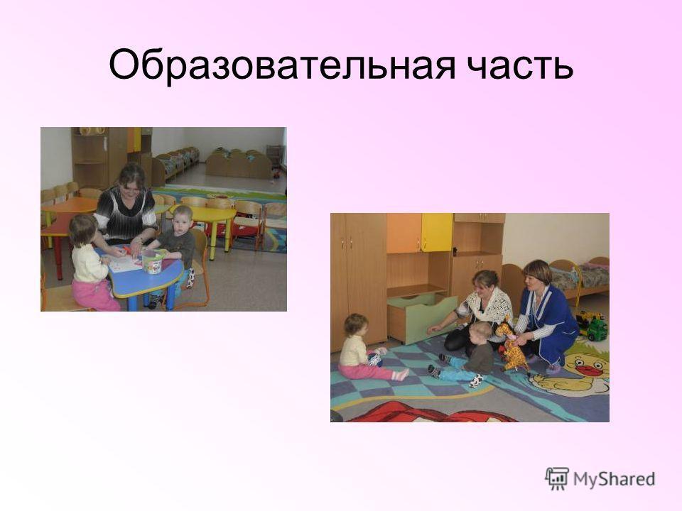 Образовательная часть