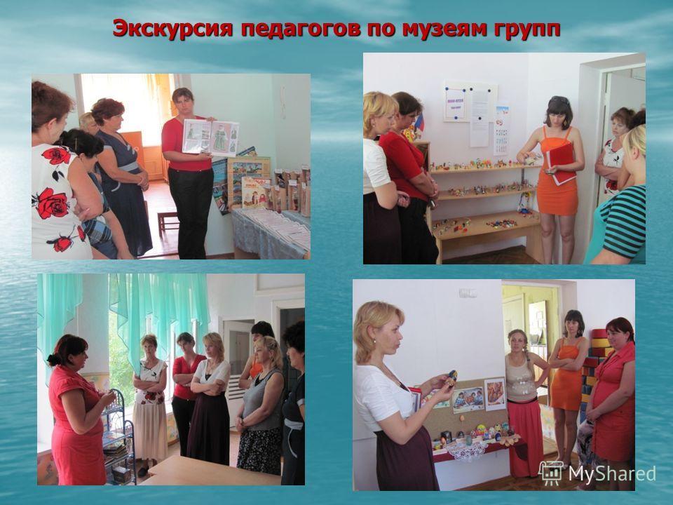 Экскурсия педагогов по музеям групп