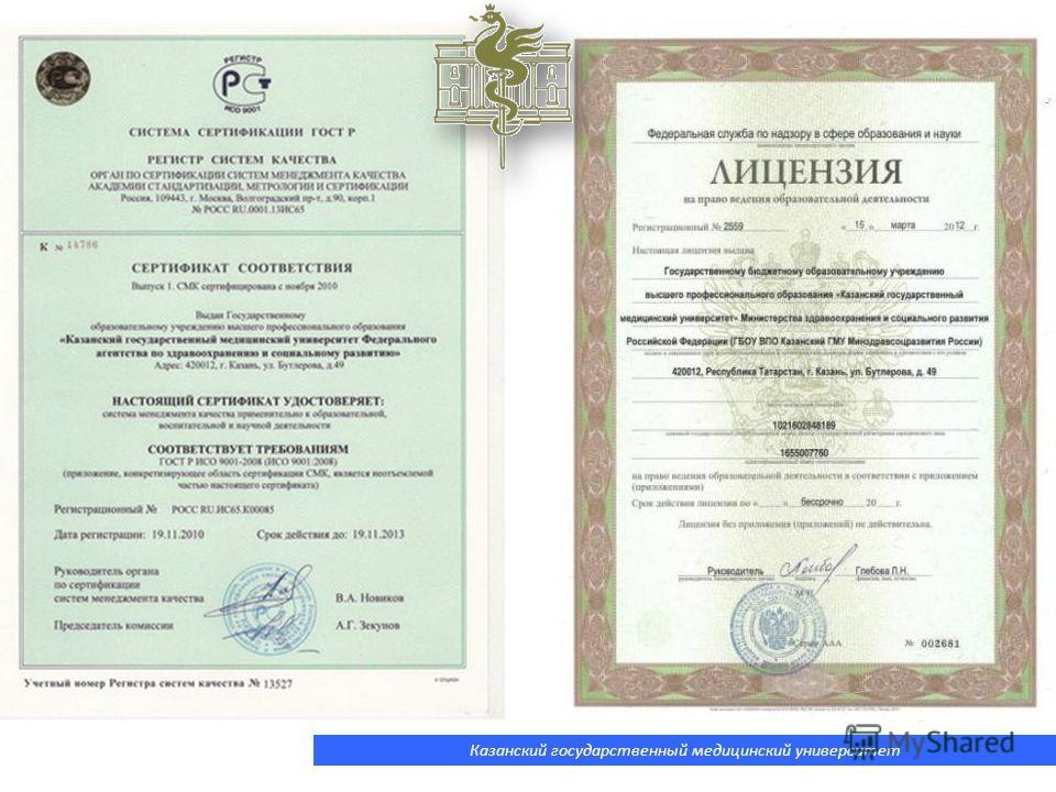 Казанский государственный медицинский университет