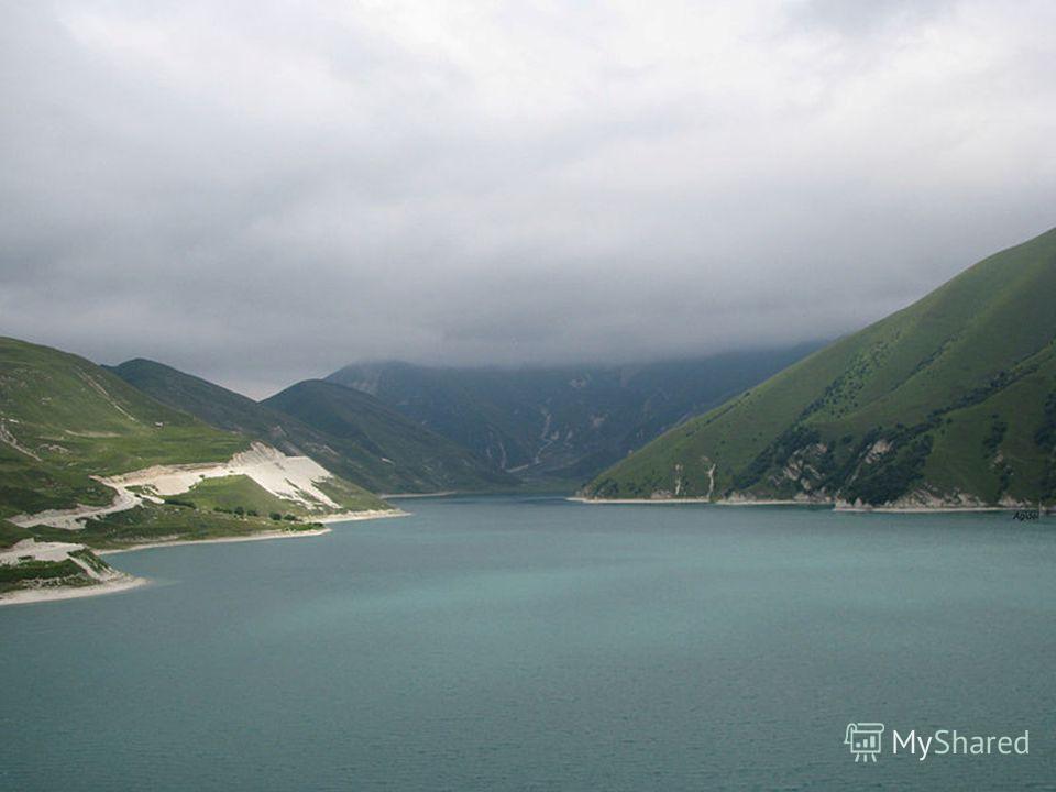 Самое крупное высокогорное озеро не только в республике, но и на Северном Кавказе Кезеной-Ам. В древние времена, когда огромный горный обвал запрудил ущелья двух небольших речек Хорсум и Каухи, ниже места их слияния, за гигантской плотиной высотой бо