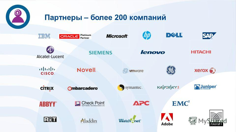 Партнеры – более 200 компаний