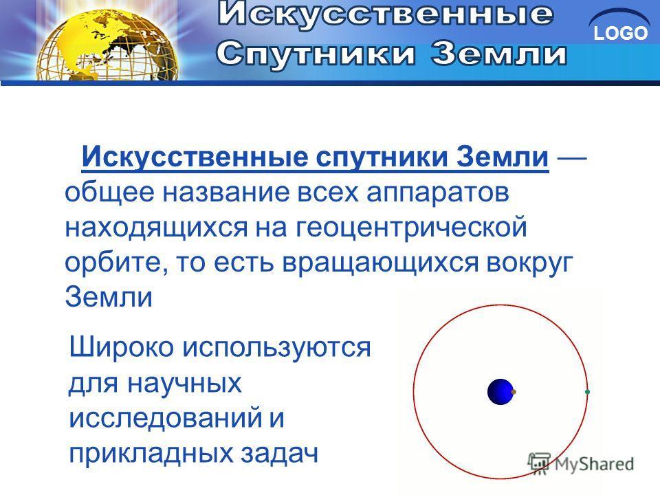 Искусственные спутники Земли общее название всех аппаратов находящихся на геоцентрической орбите, то есть вращающихся вокруг Земли Широко используются для научных исследований и прикладных задач