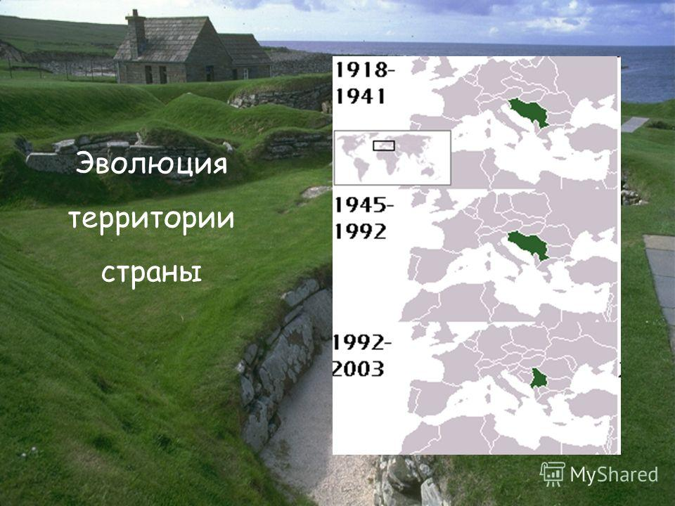 Эволюция территории страны