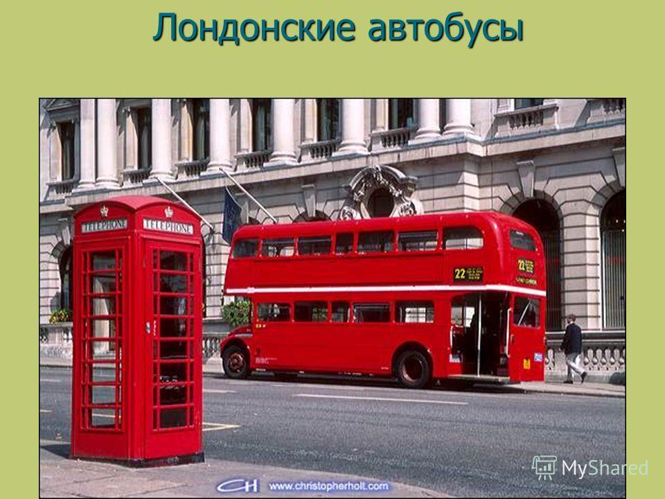 Лондонские автобусы Лондонские автобусы