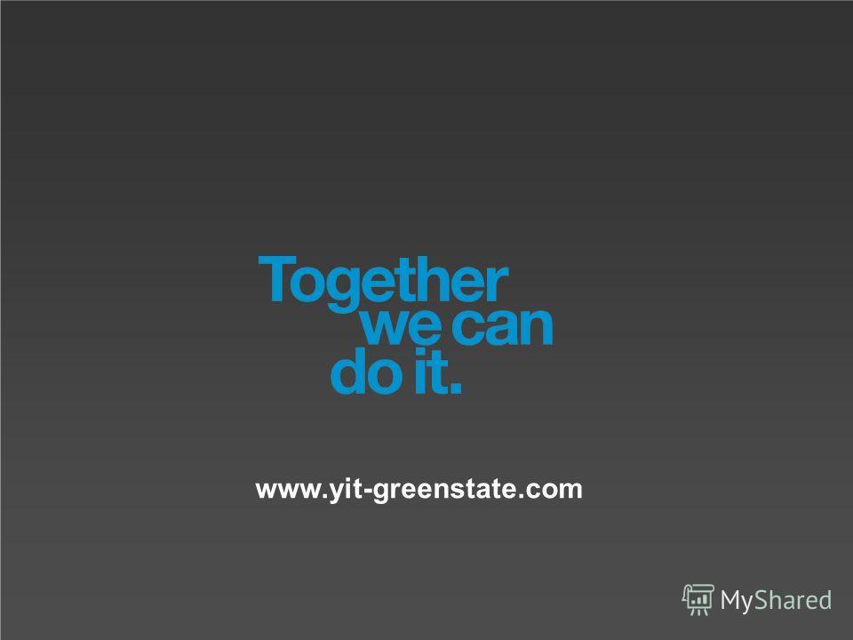 YIT | # | Internal www.yit-greenstate.com