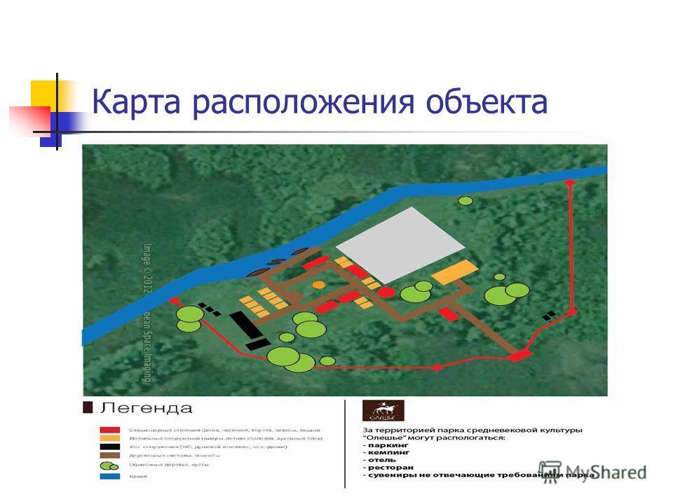 Карта расположения объекта