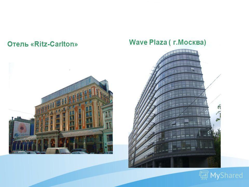 Wave Plaza ( г.Москва) Отель «Ritz-Carlton»