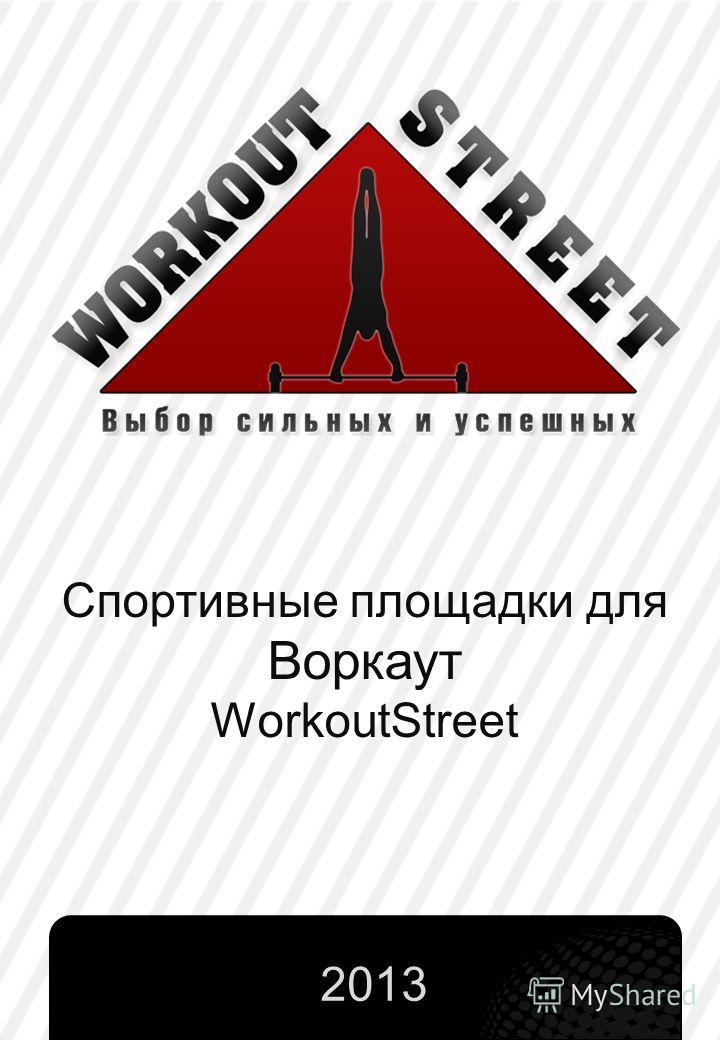 Спортивные площадки для Воркаут WorkoutStreet 2013