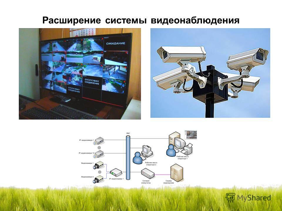 Расширение системы видеонаблюдения