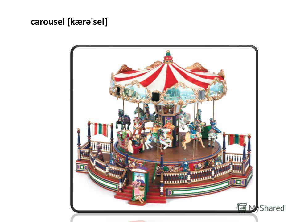 carousel [kærə'sel]