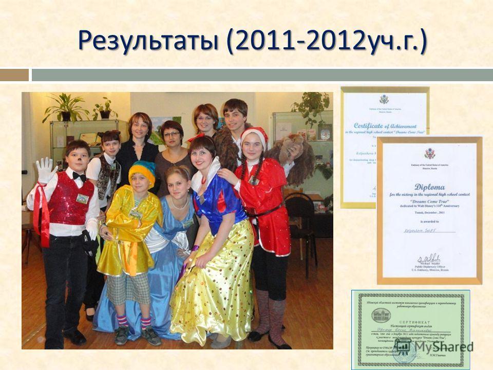 Результаты (2011-2012 уч. г.)