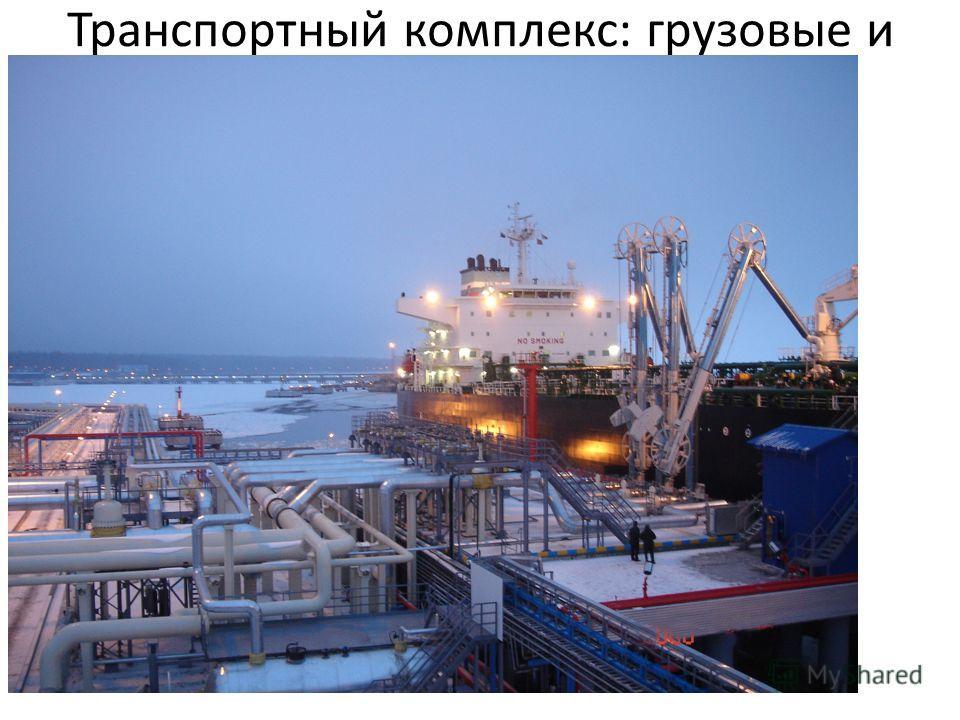Транспортный комплекс: грузовые и пассажирские порты