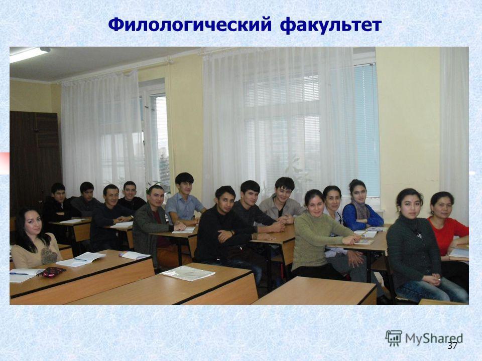 37 Филологический факультет