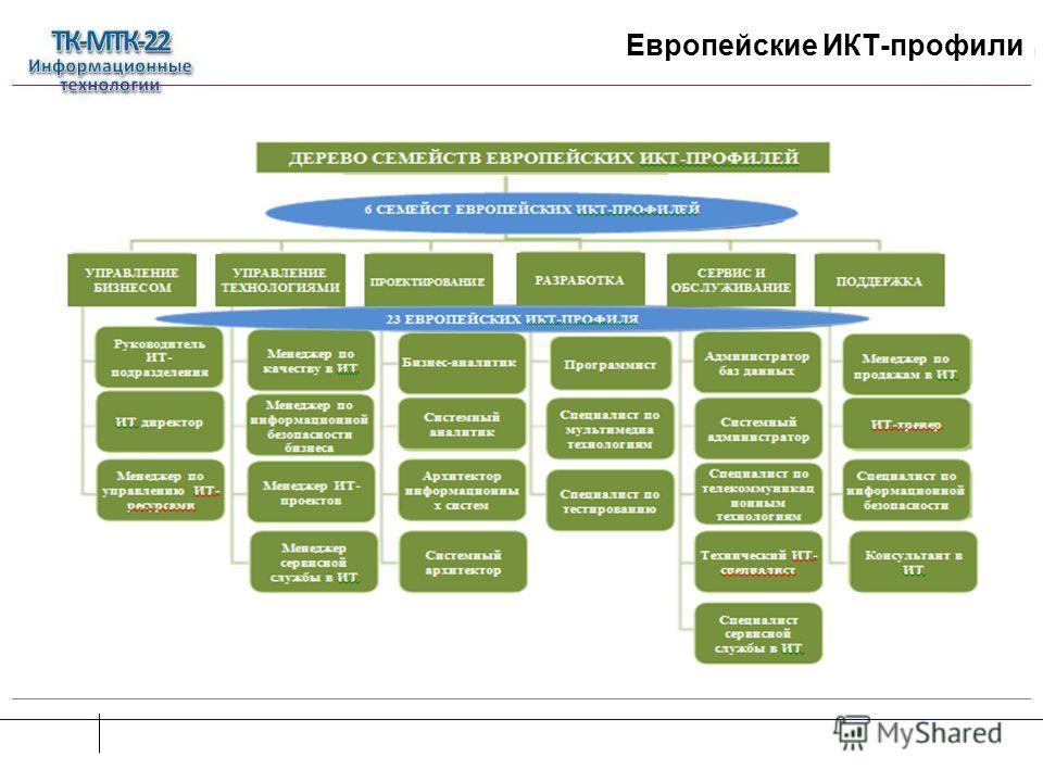 Европейские ИКТ-профили