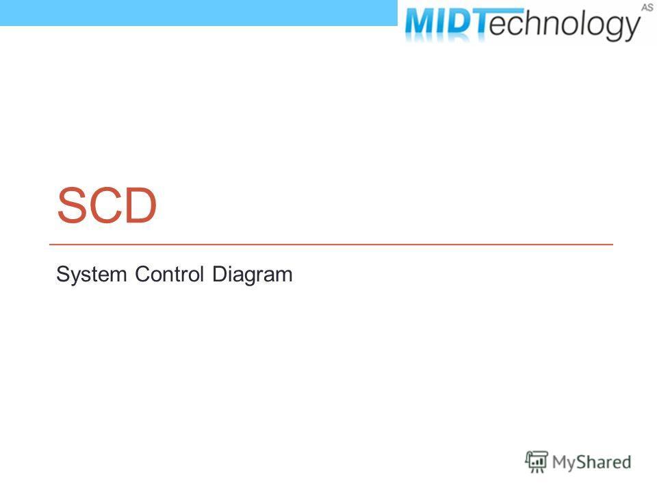SCD System Control Diagram