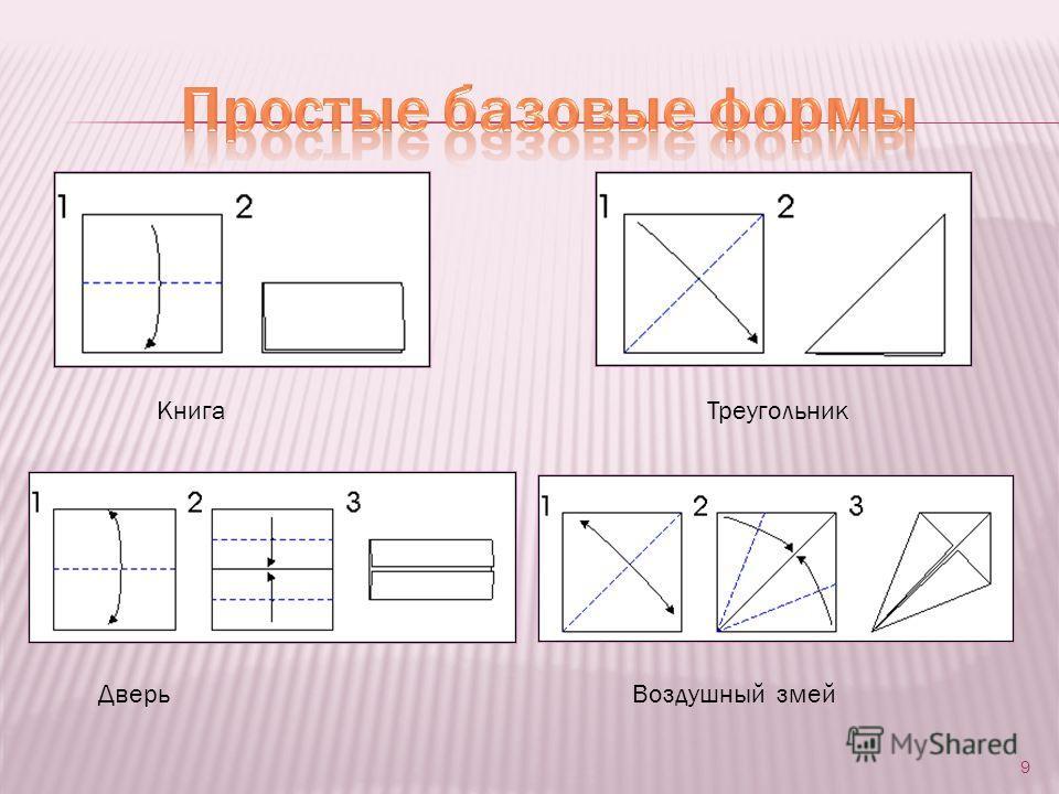 9 Книга Треугольник Дверь Воздушный змей