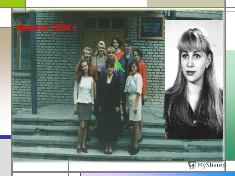 Выпуск 1996 г