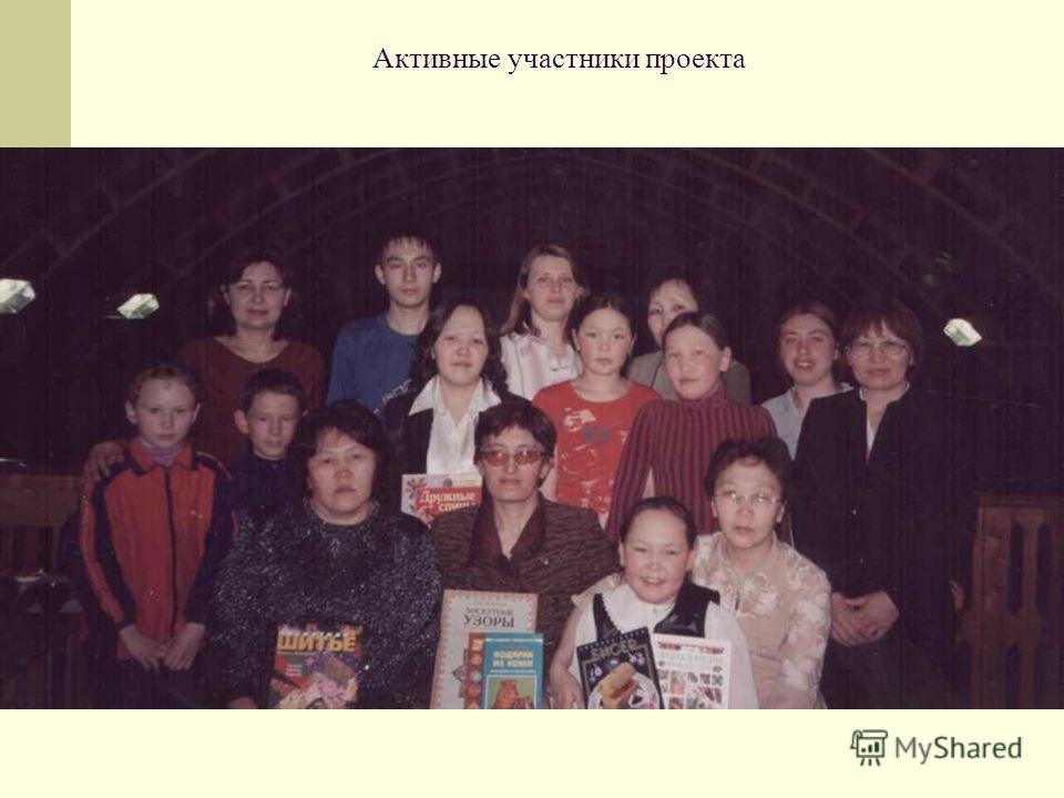 Активные участники проекта