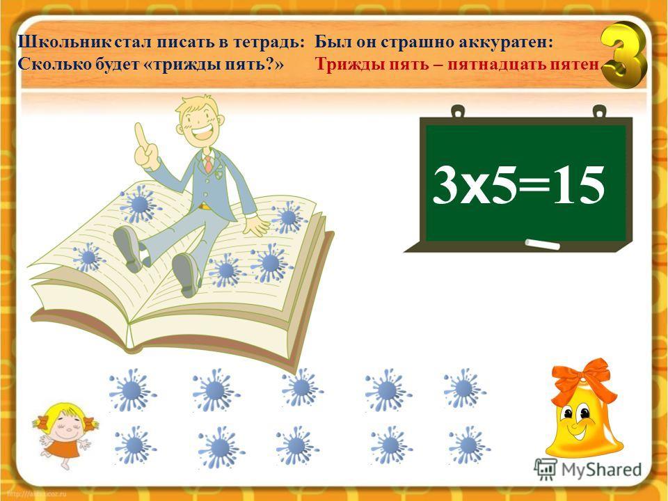 3 х 4=12 Целый день твердит в квартире Говорящий какаду: -Трри умножить на четырре, Трри умножить на четырре, Двенадцать месяцев в году.