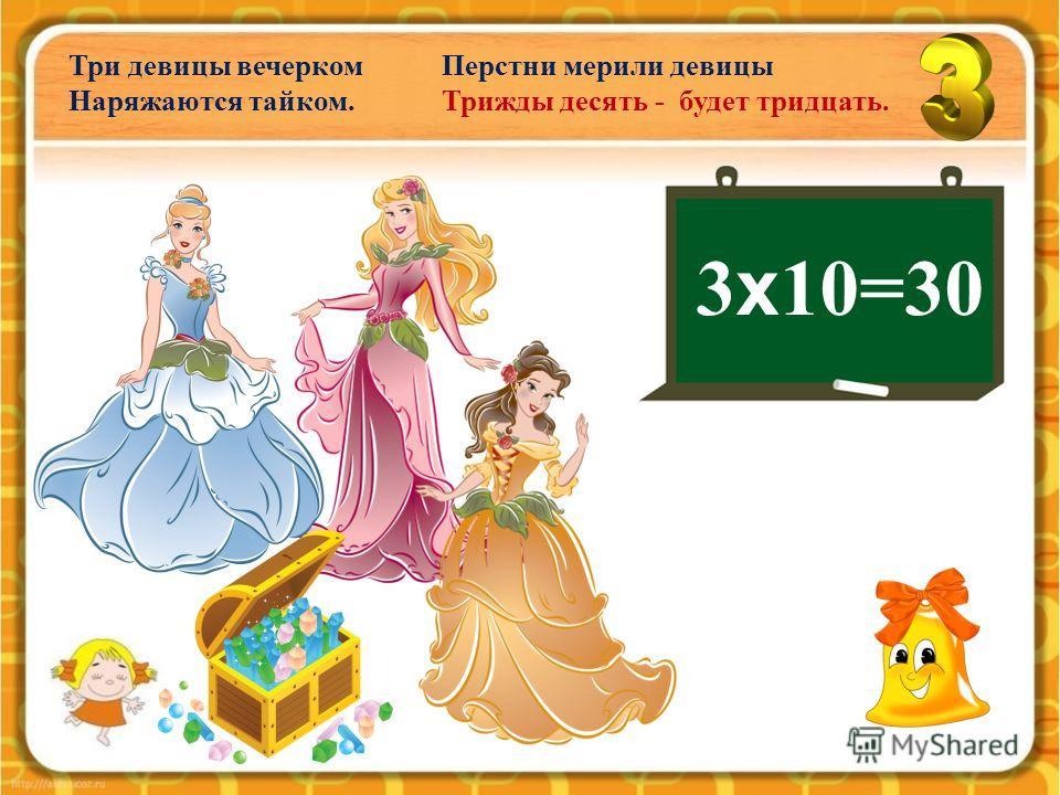 3 х 8=24 3 х 9=27 Прогрызли мыши дыры в сыре: Трижды восемь – двадцать четыре. Трижды девять – двадцать семь. Это нужно помнить всем.