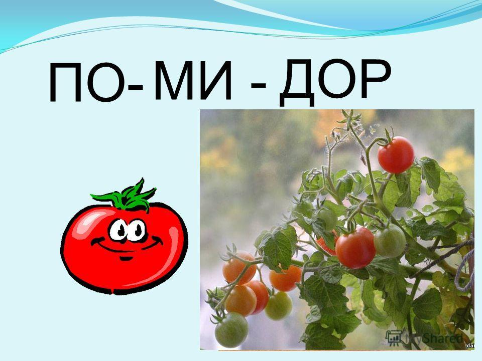 ПО- МИ - ДОР